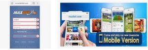 cara login maxbet mobile